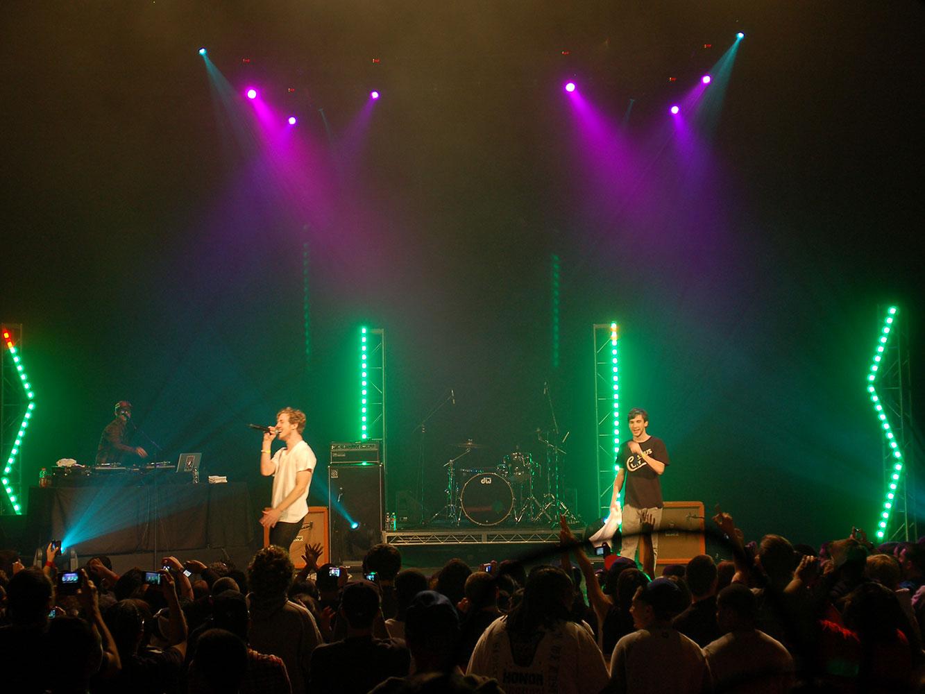 Nike-Grammy-Concert---Simple-Concert-Lighting